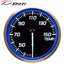 Defi Racer Gauge N2 60φ青ブルー水温計 温度計 30〜150℃