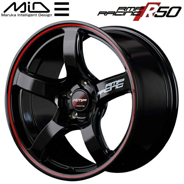タイヤ・ホイール, ホイール MID RMP RACING R50 49.5J-18 5PCD114.3 22