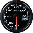 【即納】Defiレーサーゲージ白52φ温度計
