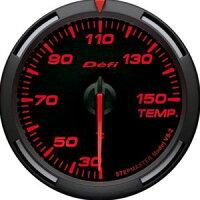 【即納】Defiレーサーゲージ赤60φ温度計