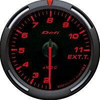 【即納】Defiレーサーゲージ赤60φ排気温度計