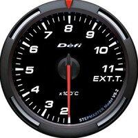 【即納】Defiレーサーゲージ白60φ排気温度計