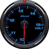 【即納】Defiレーサーゲージ青60φ電圧計