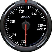 Defiレーサーゲージ白60φ電圧計
