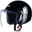 ジェットタイプ AP-603 apiss AP-603 セミジェットヘルメット ブラック リード工業 1個