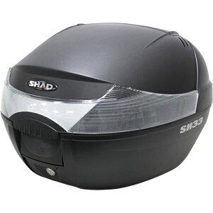 SHAD(シャード・シャッド)SH33トップケースブラック(リアボックス・バイクボックス)送料無料