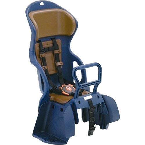 【送料無料】OGK(オージーケー技研) ヘッドレスト付カジュアルうしろ子供のせ 藍・茶 1個 メーカー品番:RBC-015DX 適合車種:22~27型の後ろキャリヤを装着したシティ車【】