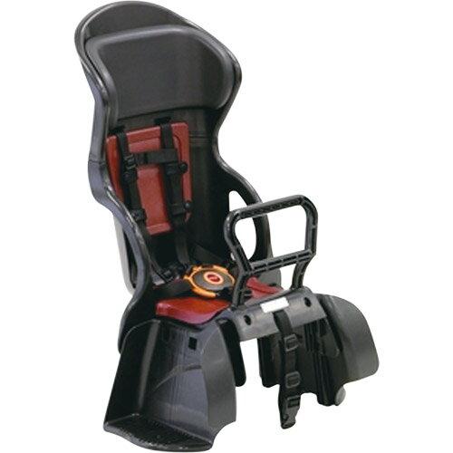 【送料無料】OGK(オージーケー技研) ヘッドレスト付カジュアルうしろ子供のせ 黒・紅 1個 メーカー品番:RBC-015DX 適合車種:22~27型の後ろキャリヤを装着したシティ車【】