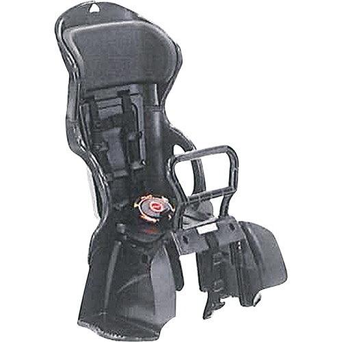 【送料無料】OGK(オージーケー技研) ヘッドレスト付カジュアルうしろ子供のせ 黒・黒 1個 メーカー品番:RBC-015DX 適合車種:22~27型の後ろキャリヤを装着したシティ車【】