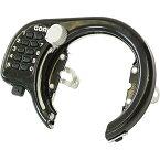 五輪工業 GR-500V プッシュ式リング錠 ブラック 1個 メーカー品番:GR-500V【あす楽対応】