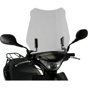 旭風防ウインドシールド適合車種:アドレスV125S(UZ125SL0):アドレスV125Sベーシック(UZ125SUL0)メーカー品番:AD-13(オートバイ用外装・風防・スズキ用・シールド)