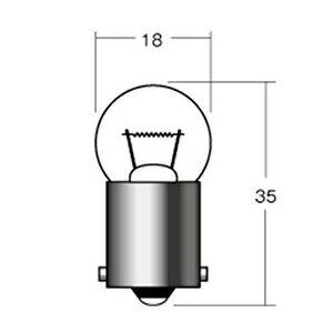 ライト・ランプ, ウインカー MH 12V23W BA15S 1P5115 PP 12V23W-G18-BA15S
