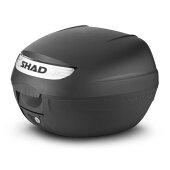 SHAD(シャッド)バイクトップケース・リアボックスSH26トップケース無塗装ブラックD0B26100汎用