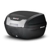 SHAD(シャッド)バイクトップケース・リアボックスSH40トップケース無塗装ブラックD0B40100汎用
