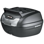 SHAD(シャッド)バイクトップケース・リアボックスSH40CARGOトップケース無塗装ブラックD0B40199汎用