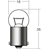 ライト・ランプ, 電球・ライトバルブ  1P5115OR 12V23W BA15S MH() 1(1)