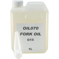 期間限定5,400円以上送料無料!一部地域は除きますノーブランド FORK OIL G15 1L (バイク用・オ...