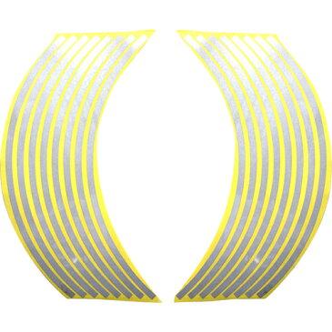 【エントリーでP10倍】ホイール・リム/アクスル リムステッカー 12インチ用 シルバー Optimum(オプティマム)