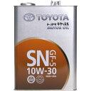 鉱物油 0888010805 エンジンオイル SN/GF-5 10W-30 4L キャッ...
