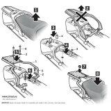 Y0FJ15ST トップマスターフィッティングキット FJR 1300(06 -15) SHAD(シャッド) 1セット