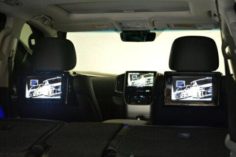 オーディオ・AV系 その他【エクスクルージブ ゼウス】ランドクルーザー 【 LUV LINE 】 2rd Seat Monitor Kit   ランドクルーザー 200 (URJ202W) 2015/8 -