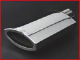 Y51 フーガ | ステンマフラー【ブラックパールコンプリート】フーガ Y51 専用SONIC ELEMENT EXHAUST SYSTEM テールバリエーション:パラス シングル サイレンサー無