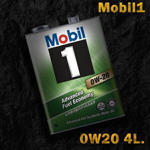 Mobil1モービル1エンジンオイルSN/GF-50W-204L缶