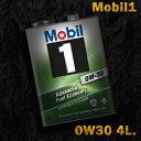 Mobil1 モービル1 エンジンオイルMobil SP 0W-30 / 0W30 4L缶...