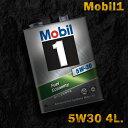 Mobil1 モービル1 エンジンオイルMobil SN / GF-5 5W-30 / 5W30 4L缶(4リットル缶)送料60サイズ - 3,553 円