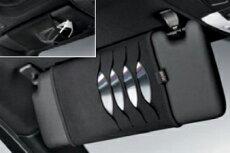 BMW純正アクセサリー3シリーズ(F30/F31)CD・DVDケースブラック(Standard)送料80サイズ