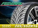 FEDERAL/フェデラルタイヤ 4本セット595シリーズ SS595205/55R16