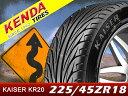 KENDA/ケンダ タイヤ 4本セットKAISER/カイザー KR20225/45R18