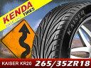 KENDA/ケンダ タイヤ 4本セットKAISER/カイザー KR20265/35R18