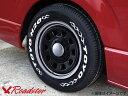 【4本組】Daytona-RS 17インチ×6.5J+38 6穴 クロームリム ブラックディスク 4本セット 3