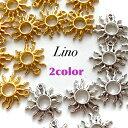 parts shop Linoで買える「【2個入り】太陽 夏 パーツ 空枠 レジン枠 フレーム parts shop Lino ハンドメイド ピアス イヤリング」の画像です。価格は60円になります。