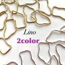 parts shop Linoで買える「【2個入り】変形チャーム フレーム parts shop Lino ハンドメイド ピアス イヤリング」の画像です。価格は60円になります。