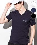1PIU1UGUALE3 RELAX ウノピゥウノウグァーレトレ UST-802 Pocket logo T-shirt ハイデンプリントポケット付 Tシャツ 色選択 ホワイト / ネイビー / ブラック サイズ S M L XL トップス 服 アパレル 送料無料