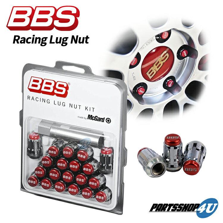 タイヤ・ホイール, ロックナット BBS M12 P1.5 P1.25 Racing Lug Nut(Red) LGM15R LGM125R McGard
