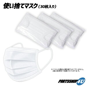 不織布マスク 30枚キッズタイプ 子供用 子供向け 小さい 3層構造 使い捨て ウイルス対策 花粉対策 インフルエンザ 風邪 ディスポーサブルマスク 商品代引不可 定形外郵便発送 ホワイト KIDS 即納 送料無料在庫あり キッズマスク