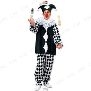 マジカルピエロ♪ハロウィン仮装衣装コスプレコスチューム大人用ピエロ服ピエロ衣装ピエロコスチューム大人用男女兼用クラウン道化師ピエロ_hw16_mn07