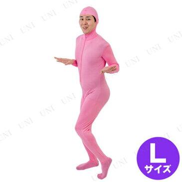 【取寄品】 全身タイツ (ピンク/L) [ 衣装 ハロウィン コスプレ 女性用 爆笑 仮装 パーティーグッズ おもしろい 面白い メンズ 面白コスチューム ウケる 男性用 大人用 ネタ 笑える おもしろコスチューム レディース ]