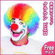 ピエロのかつら(Clown Wig) ハロウィン コスプレ 大人用 パーティーグッズ 変装グッズ ウィッグ 髪 イベントコスチューム クラウン 道化師 ぴえろ アフロヘアー