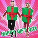 【あす楽】ファンワールド(FunWorld)ハッピーギフトボックス♪パーティーグッズ仮装衣装コスプレコスチュームパーティグッズ爆笑笑えるおもしろ面白着ぐるみおもしろコスチューム爆笑笑える面白ユーモア