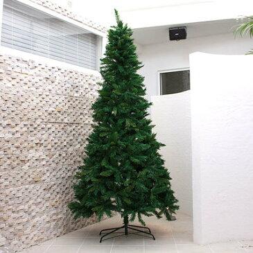 【あす楽12時まで】 【送料無料】 ! クリスマスツリー Funderful 240cmミックスリーフヌードツリー [ 飾りなし 大型 大きい 装飾 グリーンヌードツリー ]