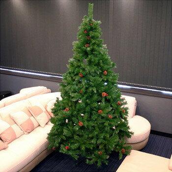 【送料無料】 ! クリスマスツリー Funderful 240cmクリスマスツリー(プレミアスタイリッシュ/松ぼっくり) [ グリーンヌードツリー 大型 飾りなし 大きい 装飾 ]