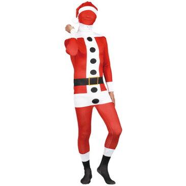大人用フィットマンサンタクロース 【 仮装 衣装 コスプレ 大人 クリスマス コスチューム おもしろ サンタクロース サンタコス メンズ 笑える 面白 爆笑 サンタコスチューム ウケる 男性用 おもしろコスチューム 】