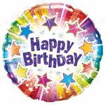 """チャーミィパック18""""ホログラムバースデーラディアントスターズ♪パーティーグッズバルーン風船ふうせん飾りパーティグッズ誕生日バースデー"""