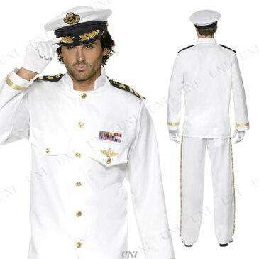 【送料無料】 キャプテンDX(艦長) XL [ 仮装 衣装 コスプレ ハロウィン 大人用 コスチューム メンズ 大きいサイズ 海軍 ネイビー パーティーグッズ 船長 男性用 ]