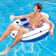 あす楽対応 Bestway(ベストウェイ) 43108 浮き輪型フロート 100cm ラグジュアリーラウンジ プール用品 ビーチグッズ 海水浴 水物 水遊び用品 エアーマット エアマット フロートマット サーフマット