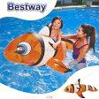 あす楽対応 ・BESTWAY 41088 クラウンフィッシュフロート 157cm プール用品 ビーチグッズ 海水浴 水物 水遊び用品
